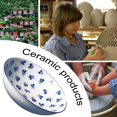 All you need for ceramic and glass production. More than 10 000 products are waiting for you!